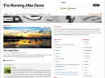 WP Theme ast first draft: Themorningafter