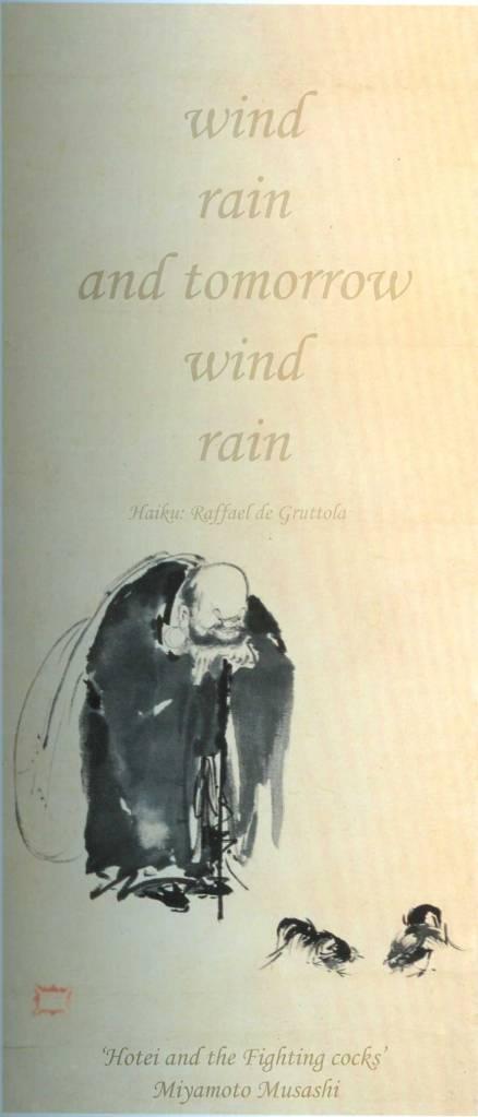 Haiku by Raffael de Grutola (Source: http://www.fusionmagazine.org/haiku/ )
